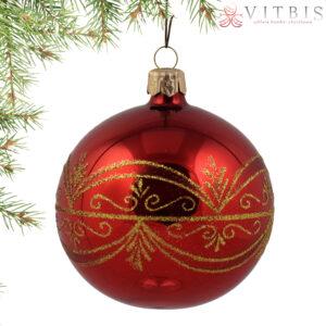 Złoty ornament. 8cm/6szt
