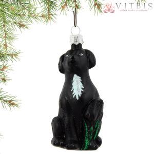 Labrador czarny. 11cm