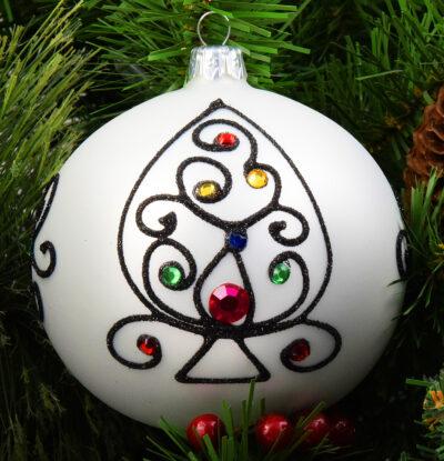 Folkowy ornament. 10cm/2szt