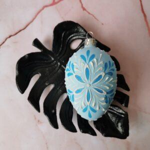 Jajko niebieskie 2: 8cm/1szt