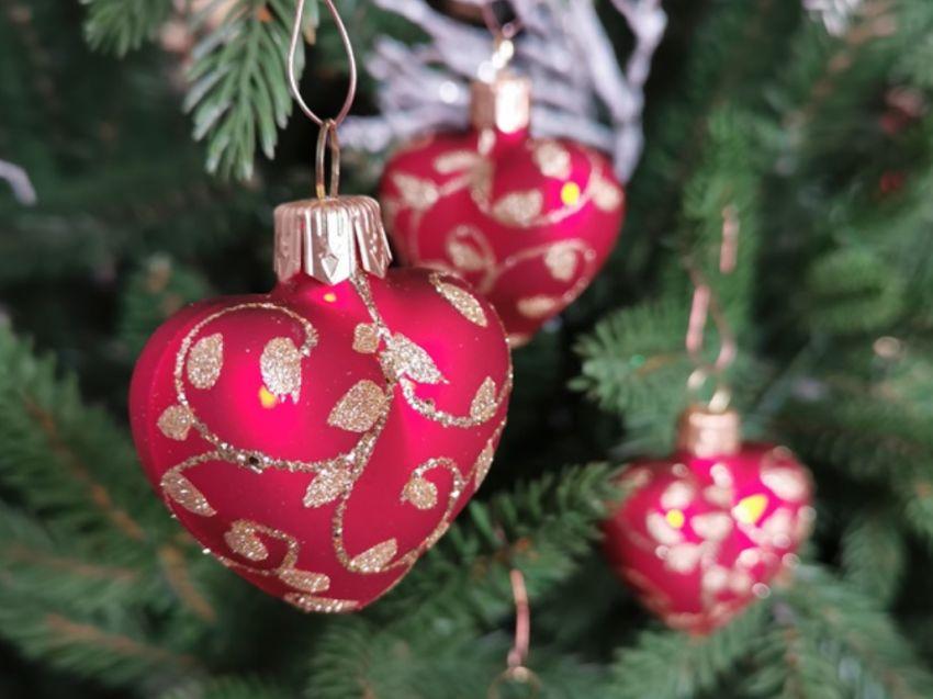 bombki świąteczne - czerwone